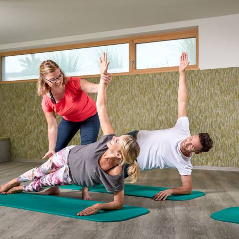 Active program: Fitness, yoga & more
