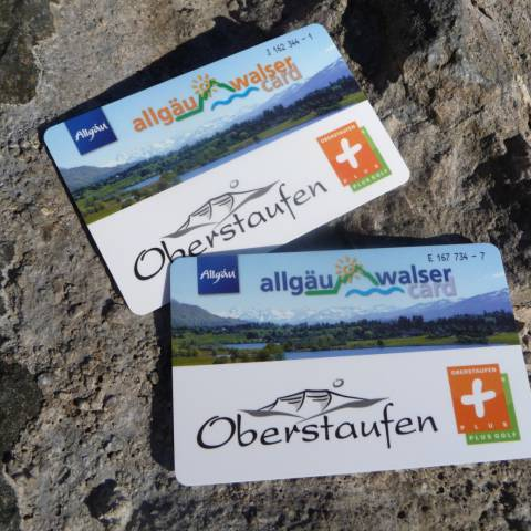Guest card: Here in Oberstaufen