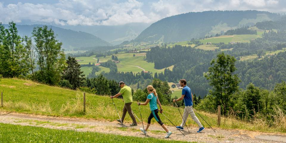 Hiking & Nordic walking in the Allgäu Region: Dream destination Nagelfluhkette Nature Park