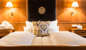 restful nights guaranteed - in our comfortable beds